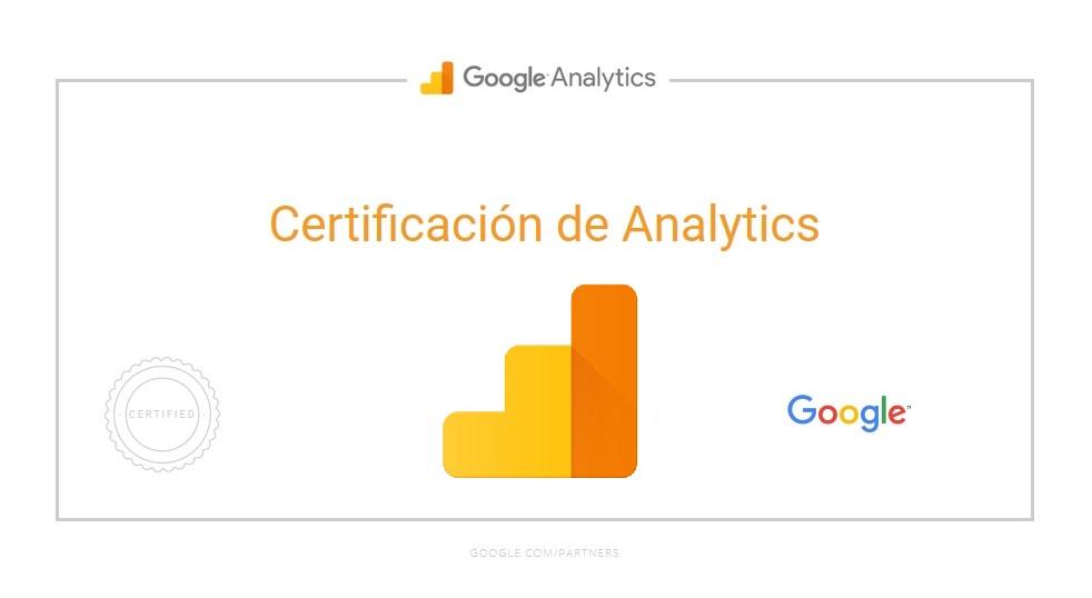Certificacion Google Analytics IQ