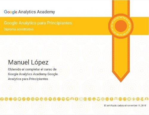 Google Analytics Certificate for beginners