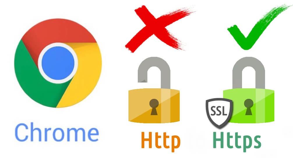 Google Chrome bloquea contenido mixto HTTPS HTTP