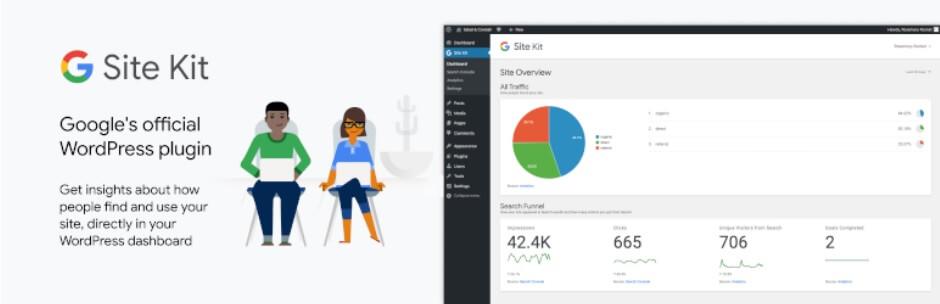 Google Site Kit oficial para Wordpress