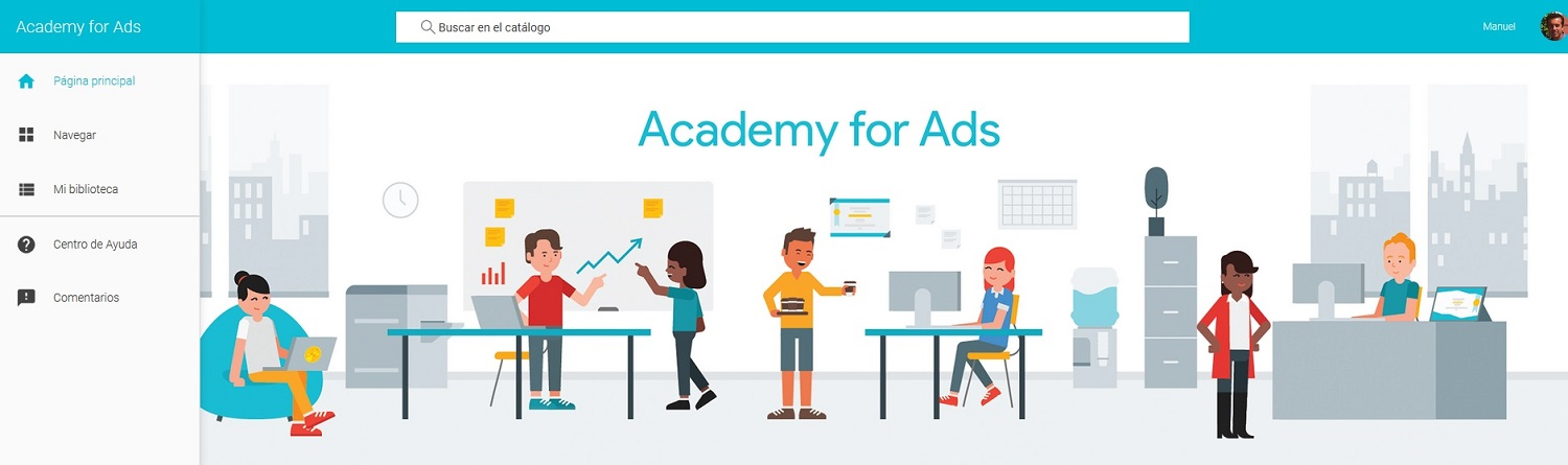 academy for ads inicio
