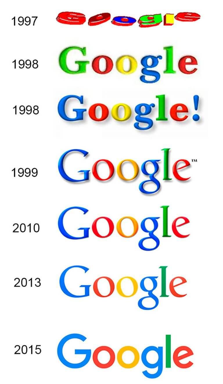 colores logo google