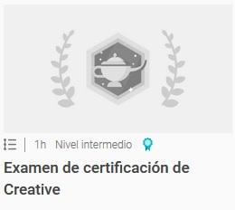Examen de certificación de Creative