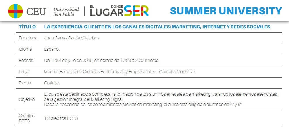 experiencia cliente en los canales digitales marketing internet y redes sociales