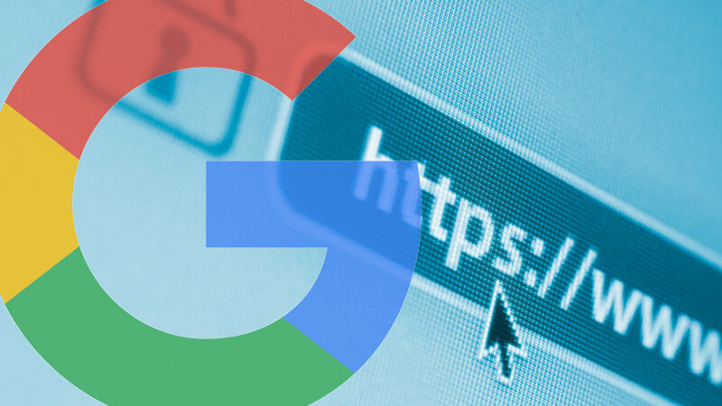 google chrome y https