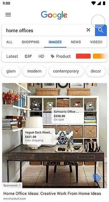 google images shopping