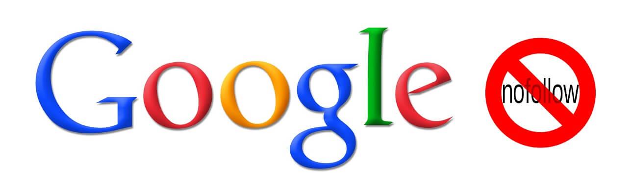 google rel nofollow