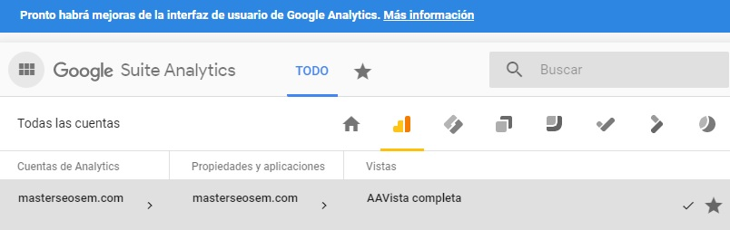 google suite analytics