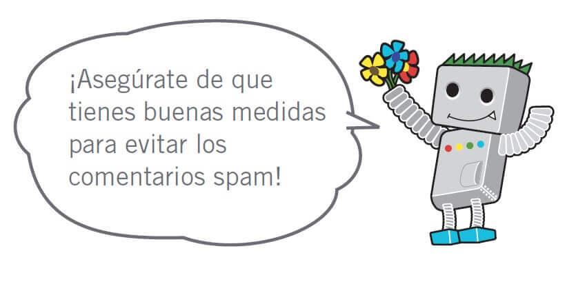 googlebot: comentarios spam!