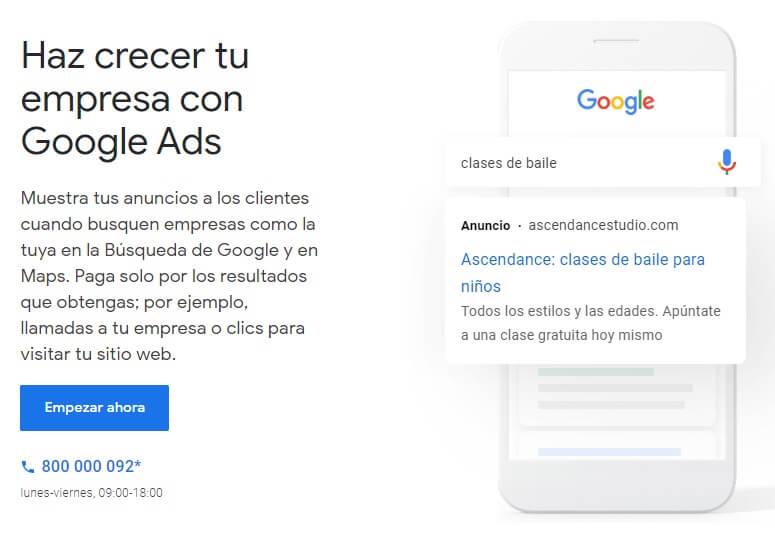 guia google ads empezar ahora