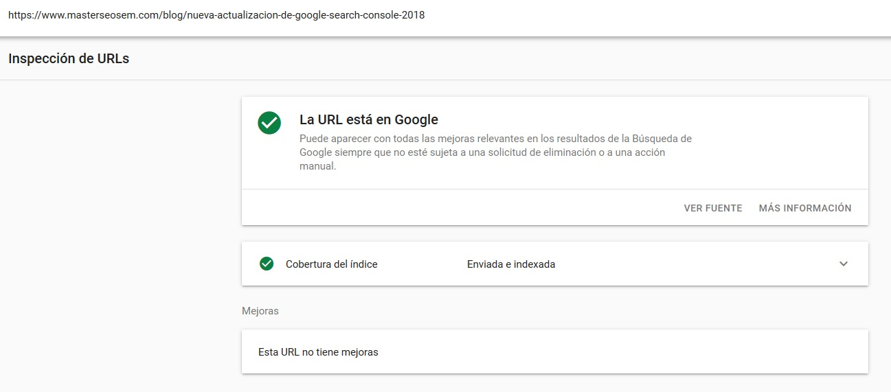 inspeccion de urls
