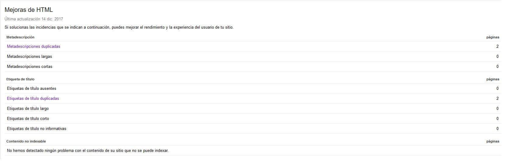 mejoras de html