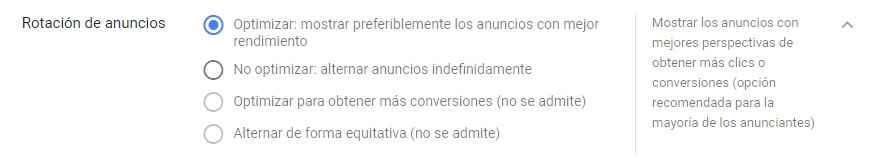 optimizar campaña google adwords