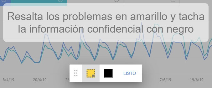 tutorial google search console enviar comentarios resaltar ocultar