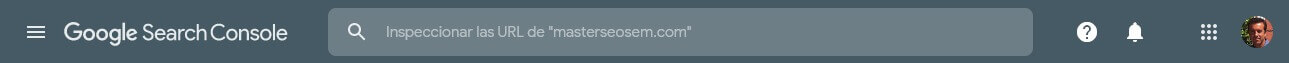 tutorial search console inspeccion de urls