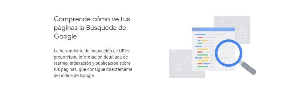 tutorial search console comprende cómo ve tus páginas la búsqueda de google