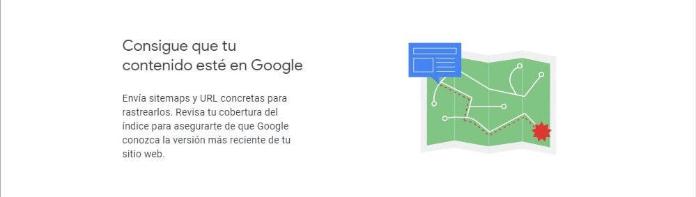 tutorial search console consigue que tu contenido este en google