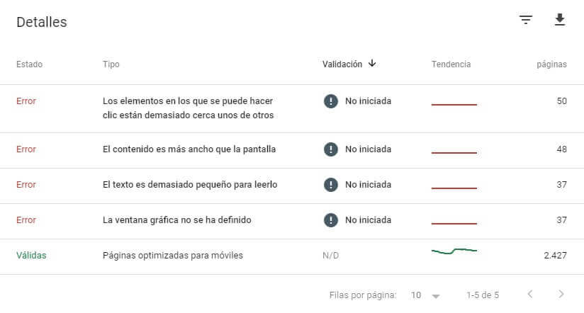 tutorial search console detalles usabilidad movil