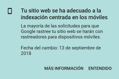 tutorial search console indexacion centrada en los moviles