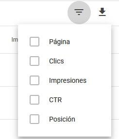 tutorial search console informe de rendimiento filtra las filas