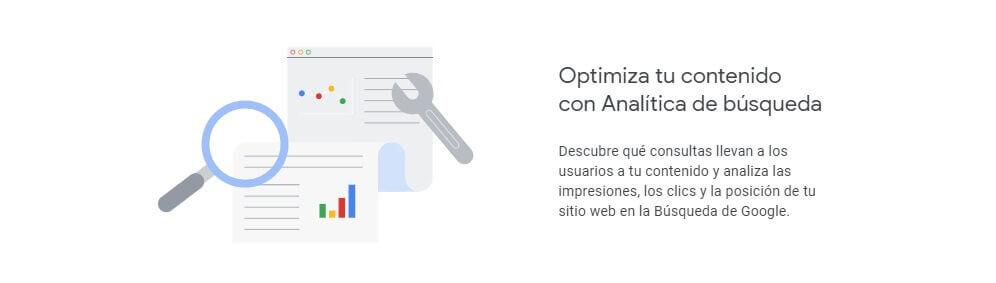 tutorial search console optimiza tu contenido con analítica de búsqueda