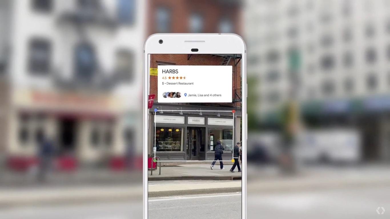 valoracion de restaurantes con google lens